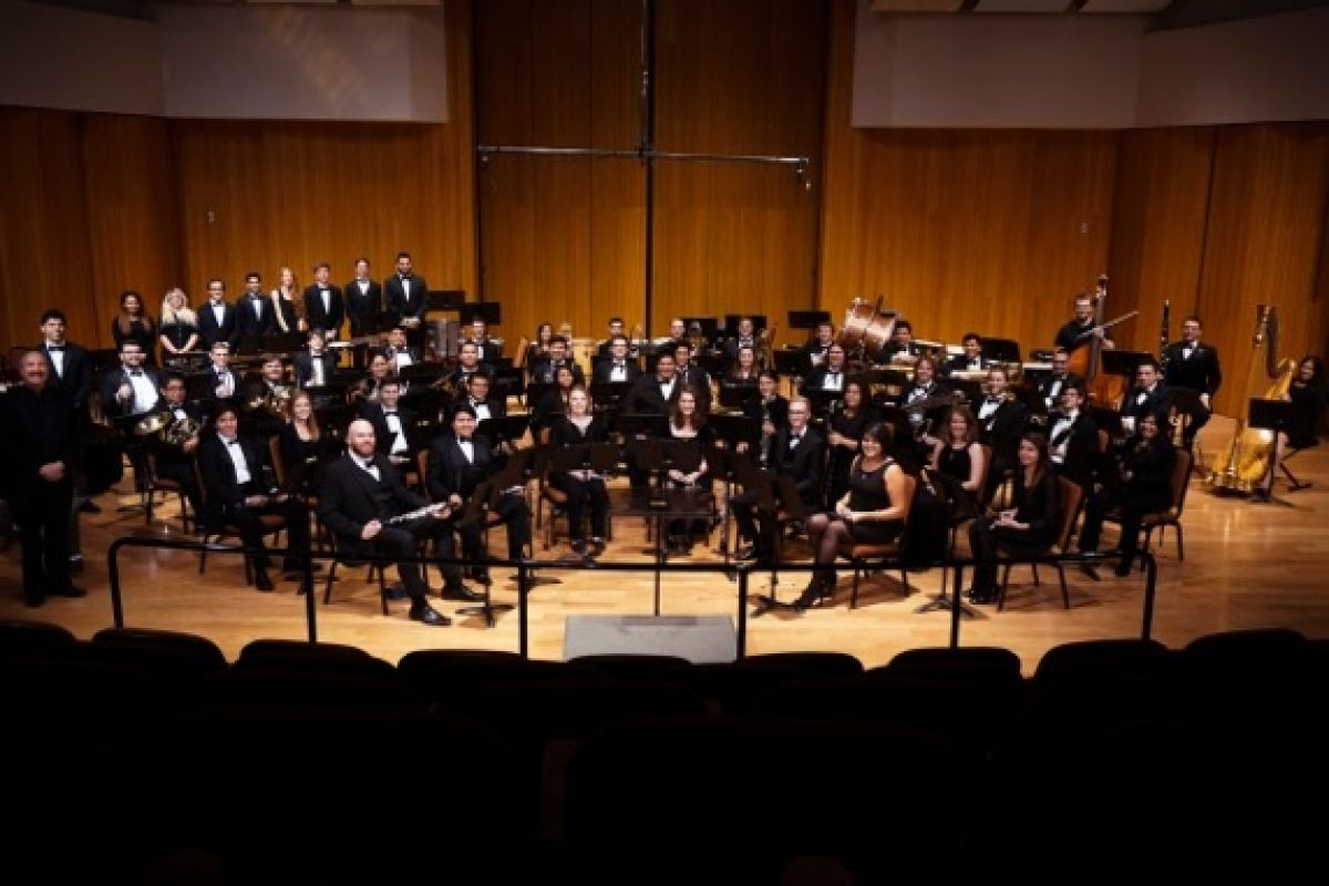 California State University Wind Ensemble.